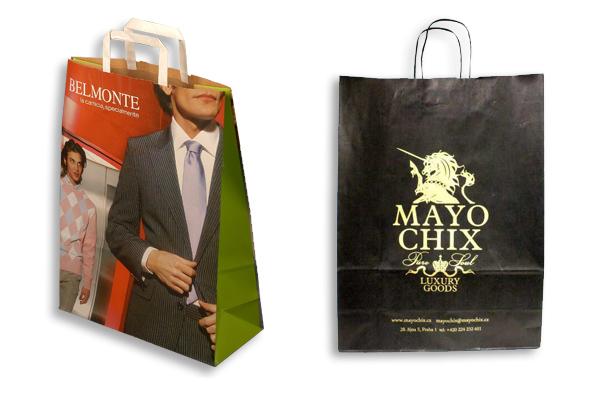Reklamní papírové tašky